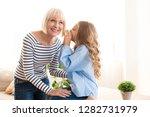 i trust you. girl telling her...   Shutterstock . vector #1282731979