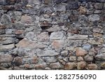 stone wall texture as very nice ... | Shutterstock . vector #1282756090