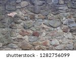 stone wall texture as very nice ... | Shutterstock . vector #1282756099