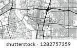 urban vector city map of... | Shutterstock .eps vector #1282757359