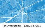 urban vector city map of... | Shutterstock .eps vector #1282757383