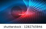 neon glowing magic background ...   Shutterstock .eps vector #1282765846