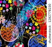 seamless geometric background... | Shutterstock .eps vector #1282778230