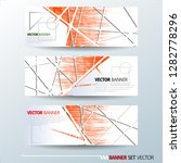 set of horizontal banners.... | Shutterstock .eps vector #1282778296