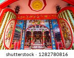 singkawang  west kalimantan ... | Shutterstock . vector #1282780816