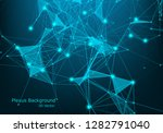 network connection dots and...   Shutterstock .eps vector #1282791040
