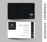 creative business card design...   Shutterstock .eps vector #1282805623