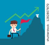 businessman success money | Shutterstock .eps vector #1282807870