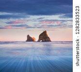 Rocky Islands Sand Dunes Wharariki - Fine Art prints