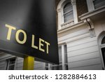 A  To Let  Sign Outside An...
