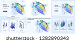 set template design article ... | Shutterstock .eps vector #1282890343