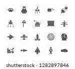 20 space capsule  ship  rocket...   Shutterstock .eps vector #1282897846