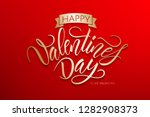 postcard with a unique...   Shutterstock .eps vector #1282908373