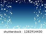 falling snow background.... | Shutterstock .eps vector #1282914430