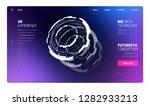 3d futuristic technology... | Shutterstock .eps vector #1282933213
