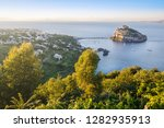 aerial view on aragonese castle ... | Shutterstock . vector #1282935913