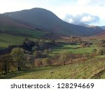 tarn hows in the lake district  ... | Shutterstock . vector #128294669