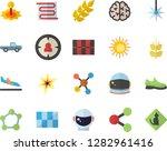 color flat icon set tile flat... | Shutterstock .eps vector #1282961416