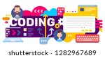 vector creative illustration of ... | Shutterstock .eps vector #1282967689