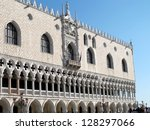 venice doge's palace at st mark'... | Shutterstock . vector #128297066