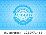 bobbin water concept badge. | Shutterstock .eps vector #1282971466