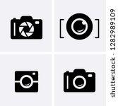 camera shutter  lenses and... | Shutterstock .eps vector #1282989109