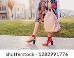 close up details of legs in... | Shutterstock . vector #1282991776