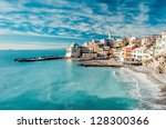 view of bogliasco. bogliasco is ... | Shutterstock . vector #128300366