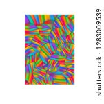 simple gradient mesh colorful... | Shutterstock .eps vector #1283009539