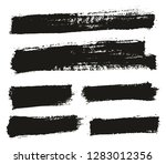 paint brush thin background... | Shutterstock .eps vector #1283012356