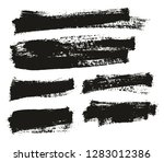 paint brush thin background... | Shutterstock .eps vector #1283012386