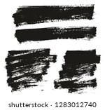 paint brush thin background... | Shutterstock .eps vector #1283012740