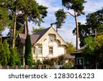 traditional house architecture... | Shutterstock . vector #1283016223