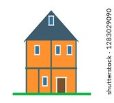 house vector building real... | Shutterstock .eps vector #1283029090