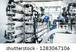 large industrial water... | Shutterstock . vector #1283067106