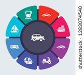 transportation vector template... | Shutterstock .eps vector #1283074540