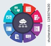 programming vector template for ... | Shutterstock .eps vector #1283074630
