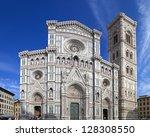 cathedral of santa maria del...   Shutterstock . vector #128308550