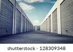 unit storage | Shutterstock . vector #128309348