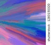 streaks of blue green purple...   Shutterstock . vector #1283150320