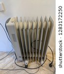electrical vintage radiator... | Shutterstock . vector #1283172250