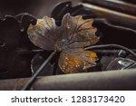 high precision hot forging... | Shutterstock . vector #1283173420