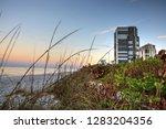 sunrise over north gulf shore...   Shutterstock . vector #1283204356