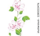 delicate beautiful seamless...   Shutterstock .eps vector #1283222476