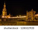 'plaza de espa        a' at... | Shutterstock . vector #128322920