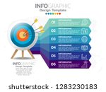 infographics for business... | Shutterstock .eps vector #1283230183