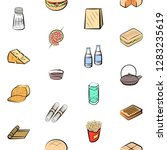 various images set. background...   Shutterstock .eps vector #1283235619