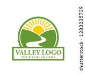 valley logo design inspiration | Shutterstock .eps vector #1283235739