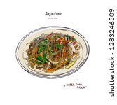"""""""stir fried glass noodles and... 
