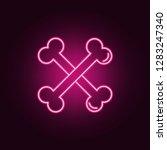 halloween bones icon. elements... | Shutterstock .eps vector #1283247340